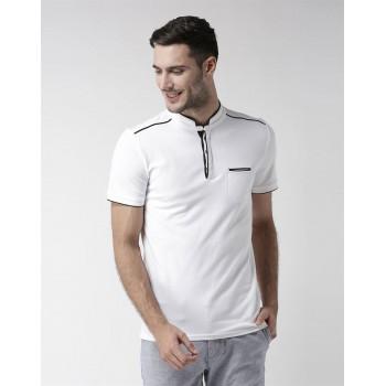 CELIO Men's Plain / Solid Slim Fit Casual Wear T-Shirt