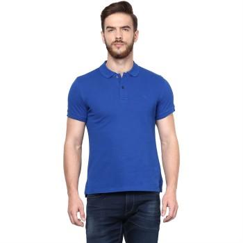 Celio Men's Plain / Solid Slim Fit Casual Wear Polo T-Shirt
