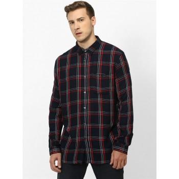 Celio Men's Checkered Regular Fit Casual Wear Shirt