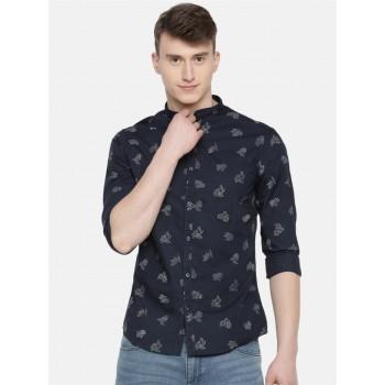 Celio Men's Floral Printed Slim Fit Casual Wear Shirt