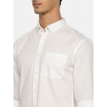Celio Men's Plain / Solid Slim Fit Casual Wear Shirt