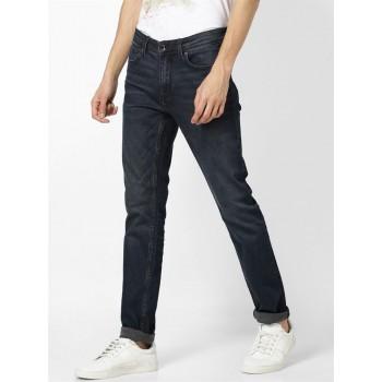 Celio Men Casual Wear Dark Blue Jean