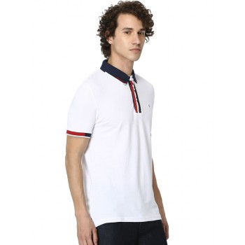 Celio Men's Plain / Solid Straight Fit Casual Wear Polo T-Shirt