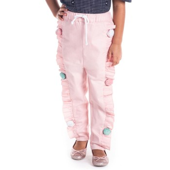 Cherry Crumble California Girls Casual Wear Embellished Trouser