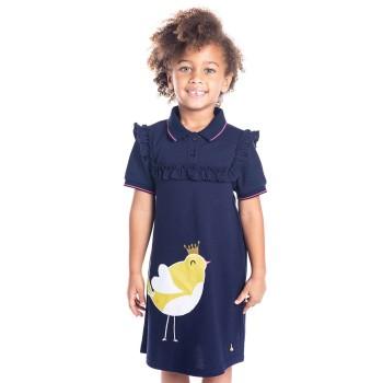 Cherry Crumble California Girls Casual Wear Animal Print Dress