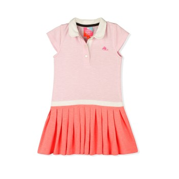 Cherry Crumble California Girls Casual Wear Solid Dress