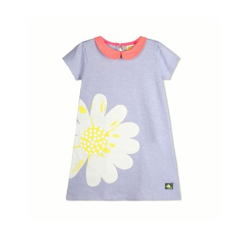 Cherry Crumble California Girls Casual Wear Applique Dress