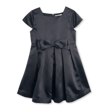 Cherry Crumble California Girls Casual Wear Navy Blue Fit & Flare Dress