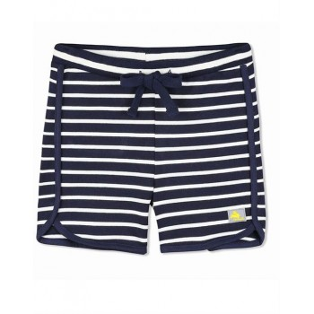 Cherry Crumble California Unisex Black Striped Short