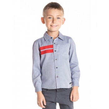 Cherry Crumble California Boys Casual Wear Solid Shirt