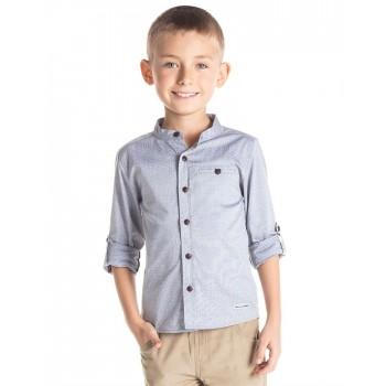 Cherry Crumble California Boys Casual Wear Self Design Shirt