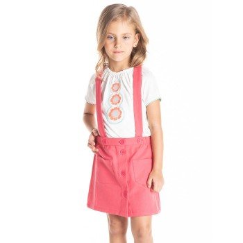 Cherry Crumble California Girls Casual Wear Solid Skirt