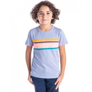 Cherry Crumble California Boys Casual Wear Printed T-Shirt