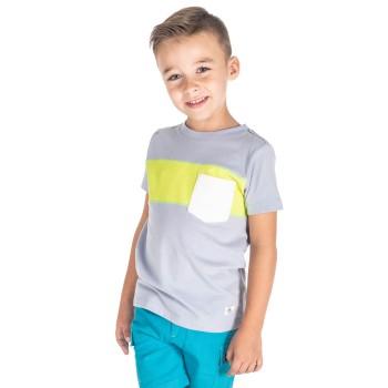 Cherry Crumble California Boys Casual Wear Color Block T-Shirt