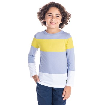 Cherry Crumble California Boys Casual Wear Striped T-Shirt