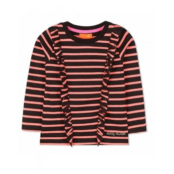 Cherry Crumble California Girls Casual Wear Striped Top