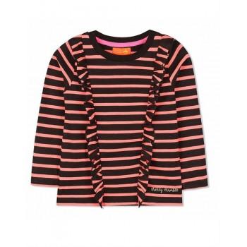 Cherry Crumble California Girls Casual Wear Striped Top