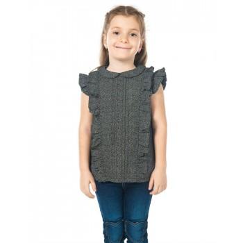 Cherry Crumble California Girls Casual Wear Self Design Top