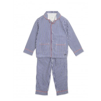 Cherry Crumble California Boys Casual Wear Blue  Nightsuit