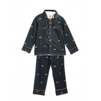 Cherry Crumble California BOYS Casual Wear Navy Blue Nightsuit