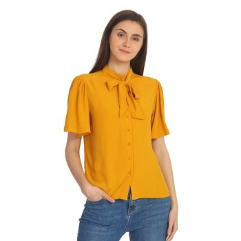 Cover Story Women's Regular Fit Casual Wear Shirt