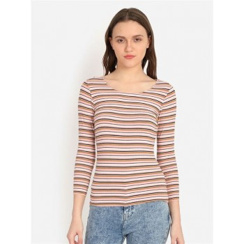 Cover Story Women's Skinny Fit Casual Wear Top