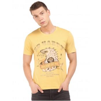 Ed Hardy Men Casual Wear Printed  T-Shirt