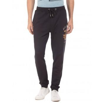 Ed Hardy Men Casual Wear Solid Track Pants