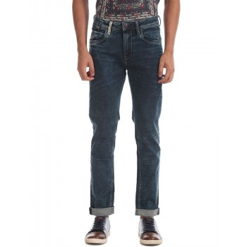 Ed Hardy Men Casual Wear Solid  Jeans