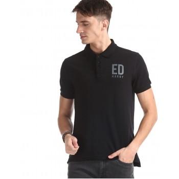 Ed Hardy Men Casual Wear Embellished T-Shirt