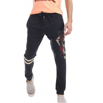 Ed Hardy Men Casual Wear Printed Joggers