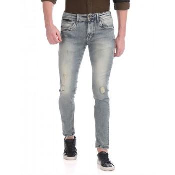 Ed Hardy Men Casual Wear Solid Jeans