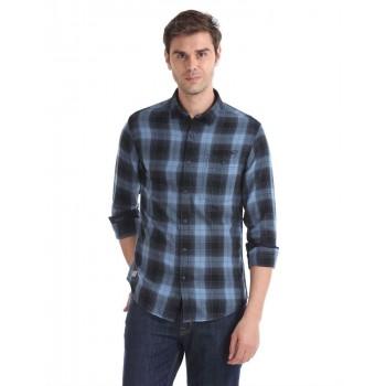 Ed Hardy Men Casual Wear Checkered Shirt