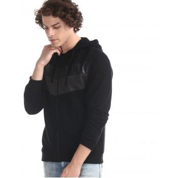 Ed Hardy Men Casual Wear Solid Sweatshirt