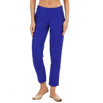 Ethnicity Casual Wear Solid Women Trousers