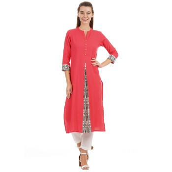 Ethnicity Ethnic Wear Solid Women Kurta