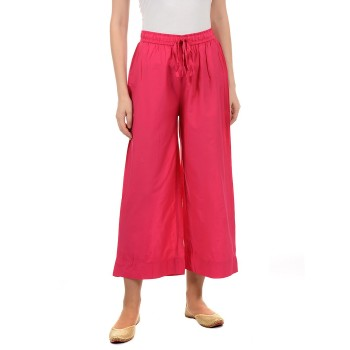 Ethnicity Women Pink Flared Palazzo