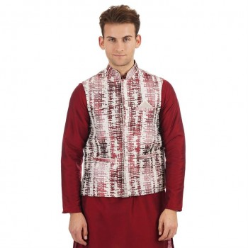 Ethnicity Men Sleeveless Nehru Jacket