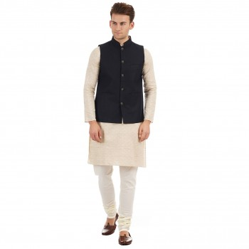 Ethnicity Men Sleeveless Nehru Jacket