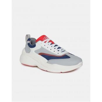 Flying Machine Footwear Men Multicolor Lace Up Sneakers