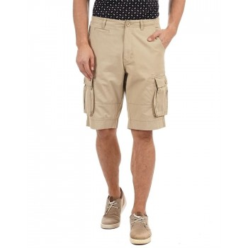 Flying Machine Men Casual Wear Solid Shorts