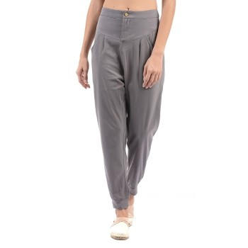 Flying Machine Women Casual Wear Solid Trackpant