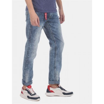 Flying Machine Men Straight Fit Casual Wear Jeans