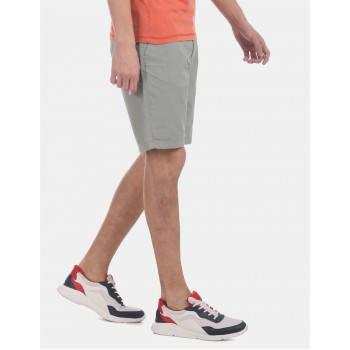 Flying Machine Men Knee-Long Casual Wear Shorts