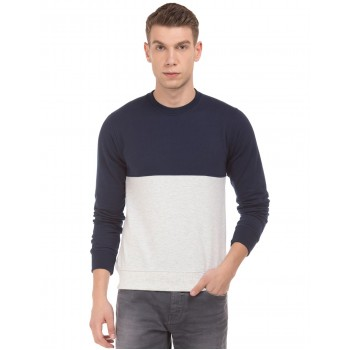 Flying Machine Men Casual Wear Solid  Sweatshirt