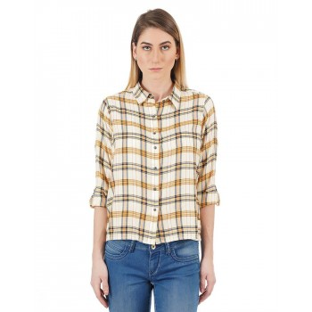 Flying Machine Women Casual Wear Checkered Shirt