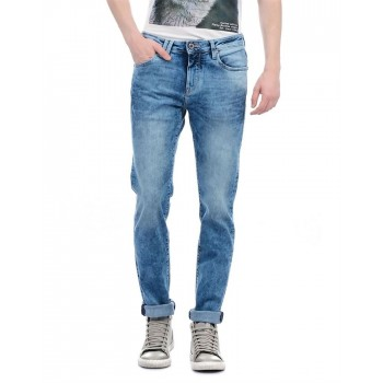 Flying Machine Men Casual Wear Solid Jeans