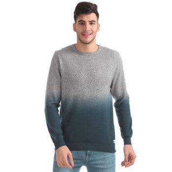 Flying Machine Men Casual Wear Solid Sweater