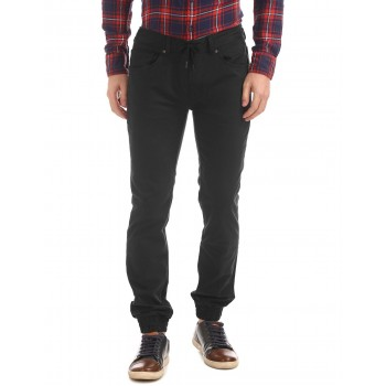 Flying Machine Casual Wear Solid  Men Trousers