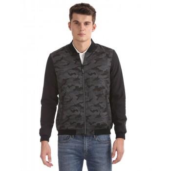 Flying Machine Men Casual Wear Printed Jacket